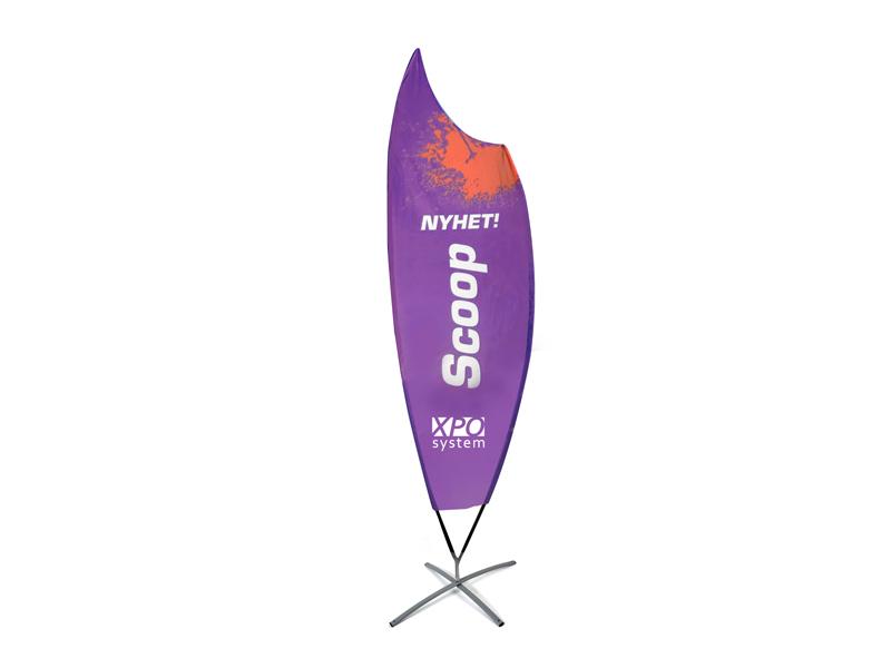 Beach flag Premium Scoop (XL)