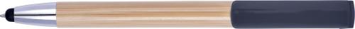 Bamboo ballpen and stylus