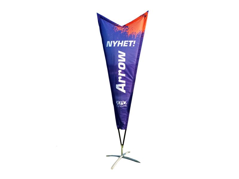 Beach flag Premium Arrow (S)