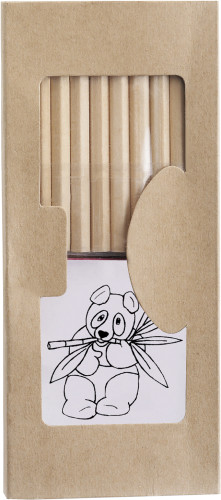 Cardboard drawing set