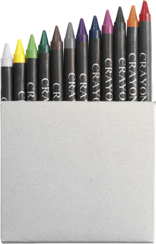 Crayon set in card box