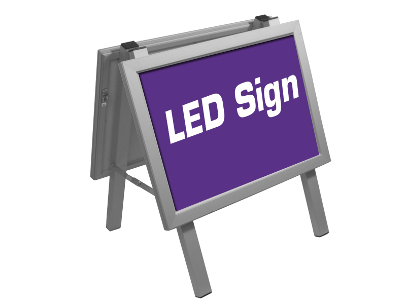 Poster sign Alu stand LED  A3 (Custom made)