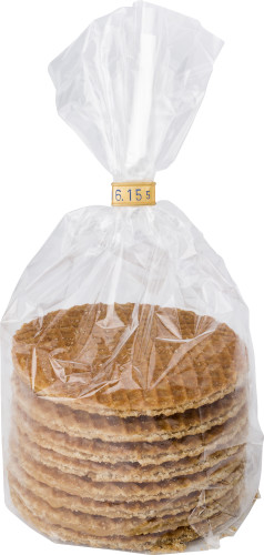 Åtta traditionella holländska waffels