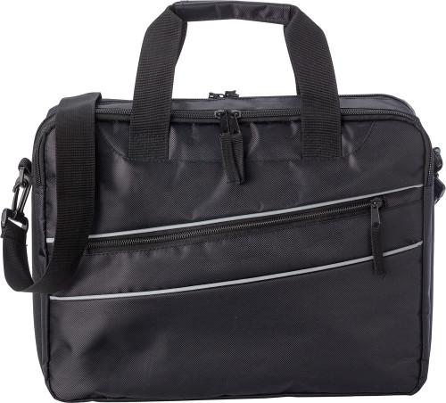 Laptop-väska i polyester (600D/twill)