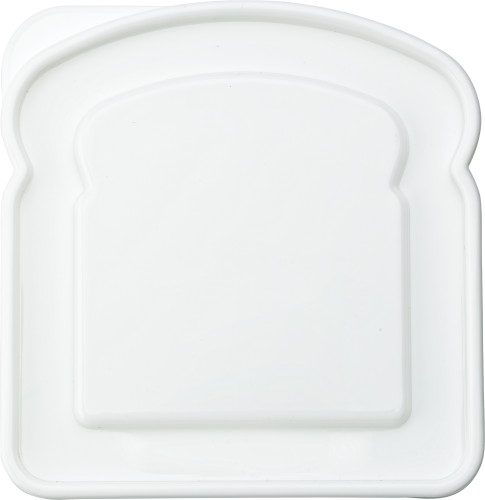 Plastic lunchbox.