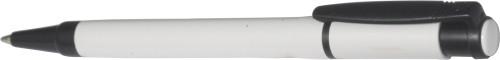 Stilolinea plastic ballpen with a white barrel.