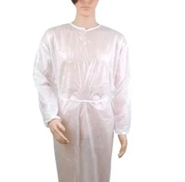 Disposable scrubs gown