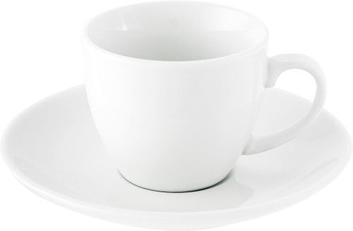 Porcelain cup and saucer (80ml)