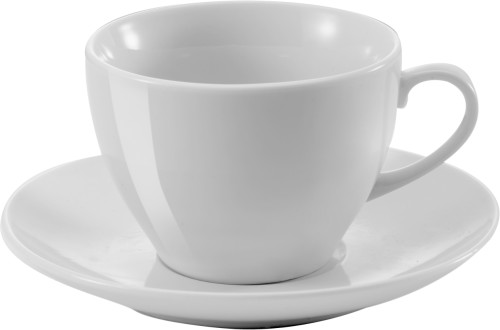 Porcelain cup and saucer (230ml)