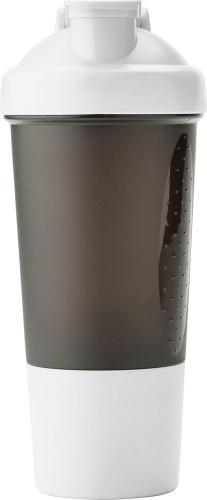 Plastic protein shaker (500ml).