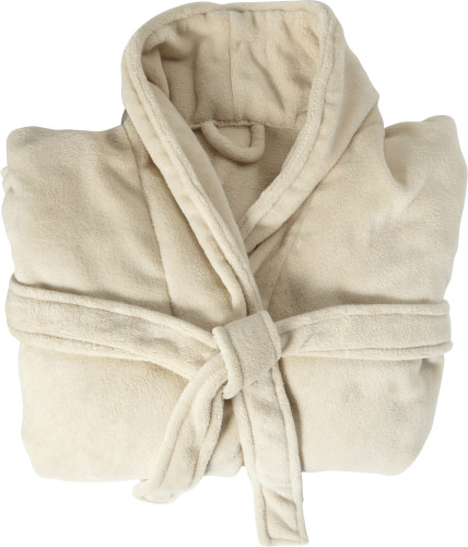 Fleece (210 gr/m²) bathrobe
