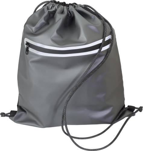 Polyester (600D) waterproof drawstring backpack