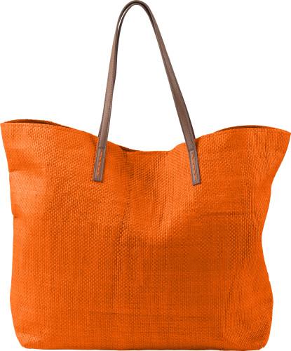 Laminated nonwoven (180 gr/m²) beach bag