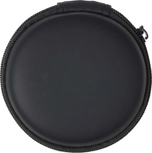 ABS pouch with earphones