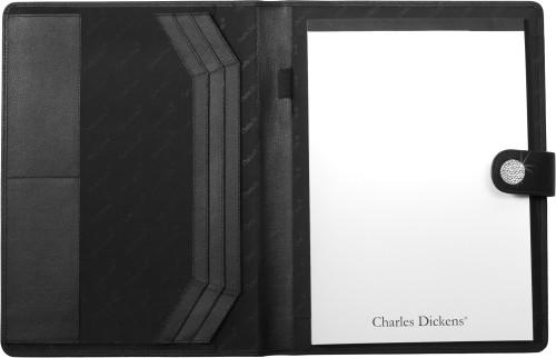 Charles Dickens® Swarovski bonded leather folder
