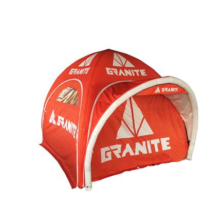Inflatable  tent 4x4m