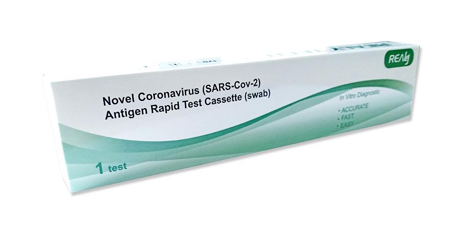 Rapid Covid (swab) test single pack