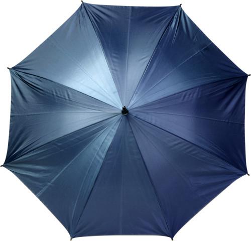 Paraply automatiskt med träskaft