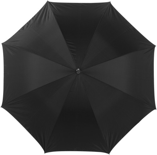 Umbrella with silver underside