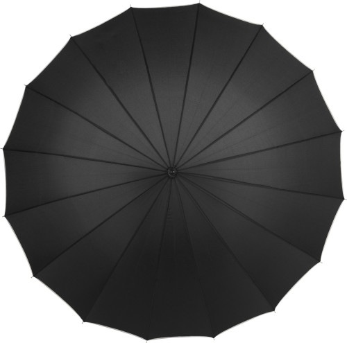 Pongee (190T) manual umbrella