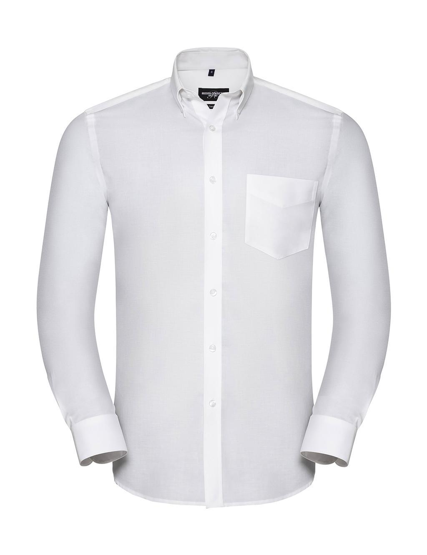Men's LS Tailored Button-Down Oxford Shirt