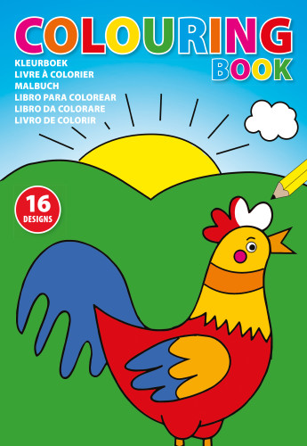 A4 Children's colouring book.