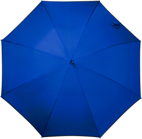 Automatic pongee (190T) storm proof umbrella.