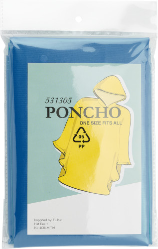 PEVA poncho (approx. 100x120cm).