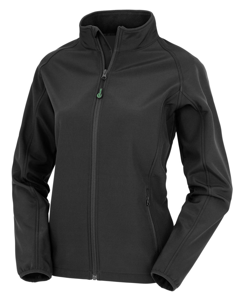 Women's Recycled 2-Layer Printable Softshell Jkt