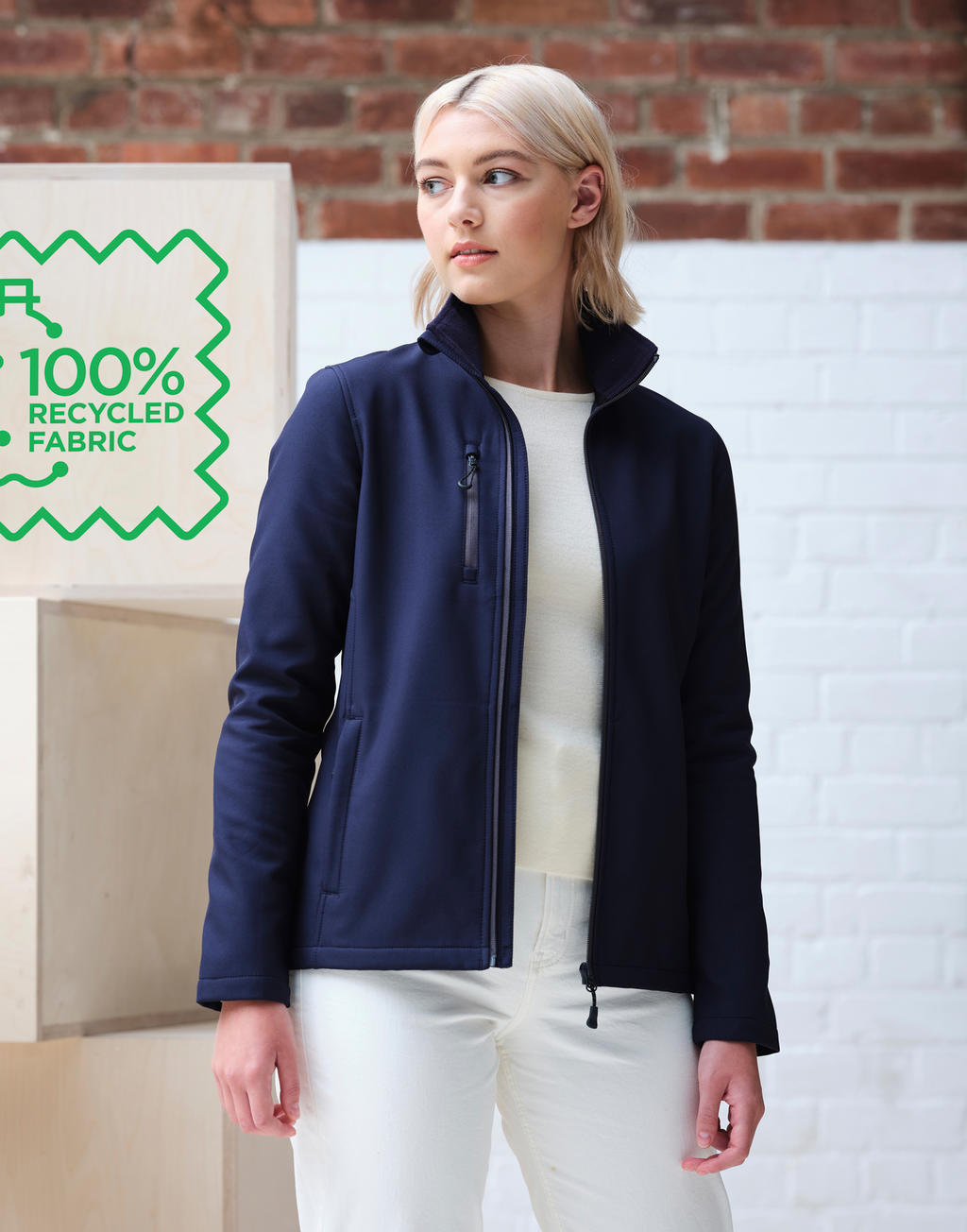 Women's Honestly Made Recycled Softshell Jacket