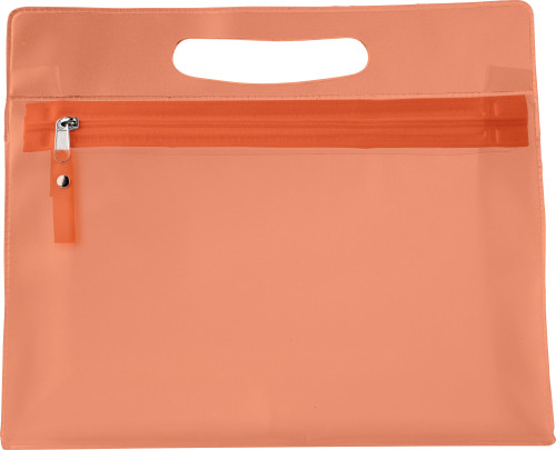PVC Frosted toilet bag