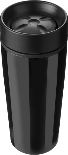 Stainless steel double walled travel mug