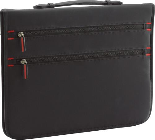 A4 Zipped nylon portfolio