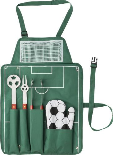 5 pcs football barbecue set