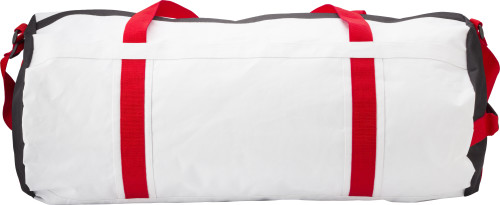 Polyester (600D) round sports bag