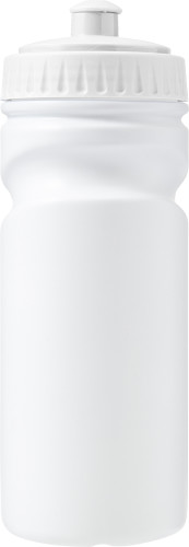 100% recyclable plastic drinking bottle (500ml)