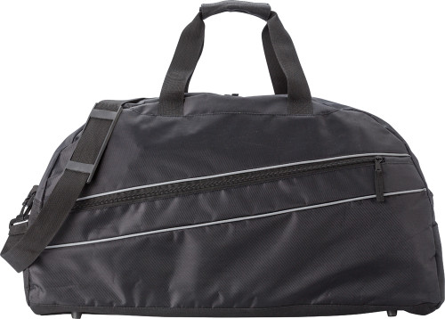 Polyester (600D/twill) sports bag