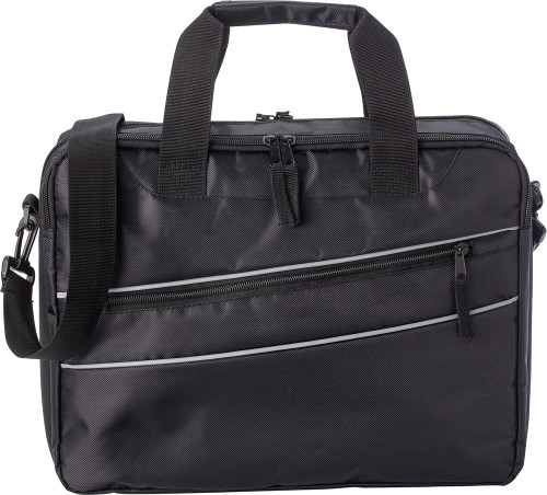 Polyester (600D/twill) laptop bag
