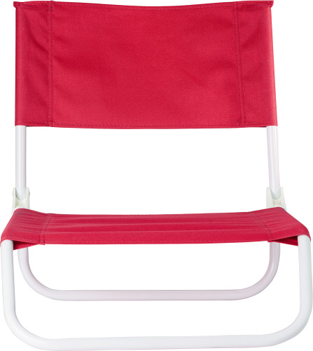 PVC (600D) foldable beach chair