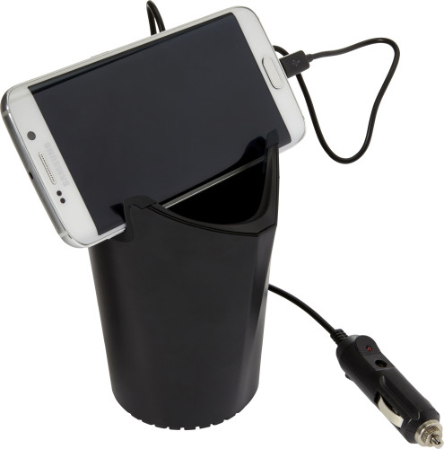 Plastic 3-ports cup holder