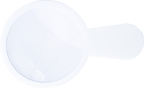Thin plastic magnifying glass