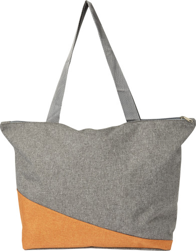 Poly canvas shopping bag