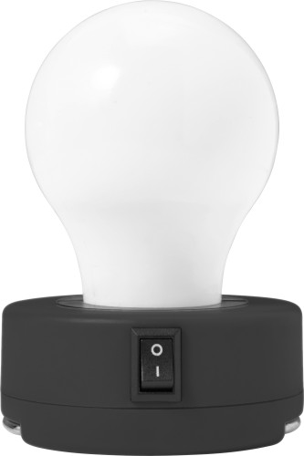 ABS Bulb light with on/off-switch