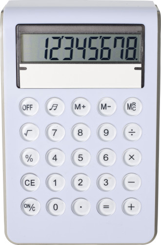 Plastic calculator (8 digits)