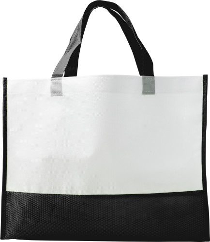 Nonwoven carry/shopping bag