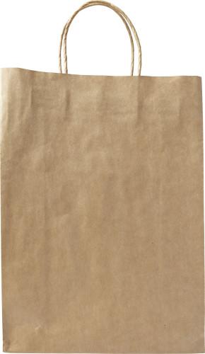Paper bag,'large'.