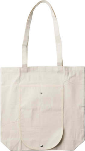 Foldable cotton (250 g/m2) carry/shopping bag