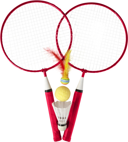 Iron badminton set