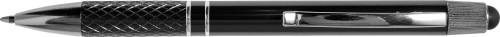 Twist-action aluminium ballpoint pen
