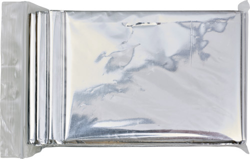Aluminium emergency blanket